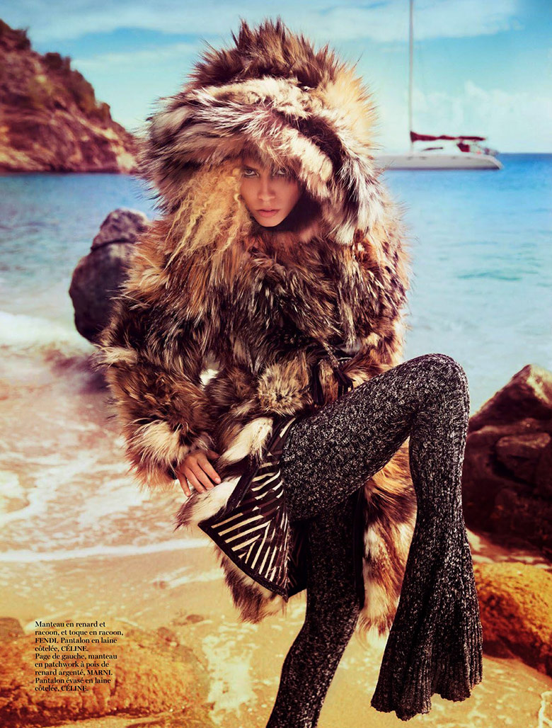 Photo Natasha Poly by Inez & Vinoodh for Vogue Paris November 2014