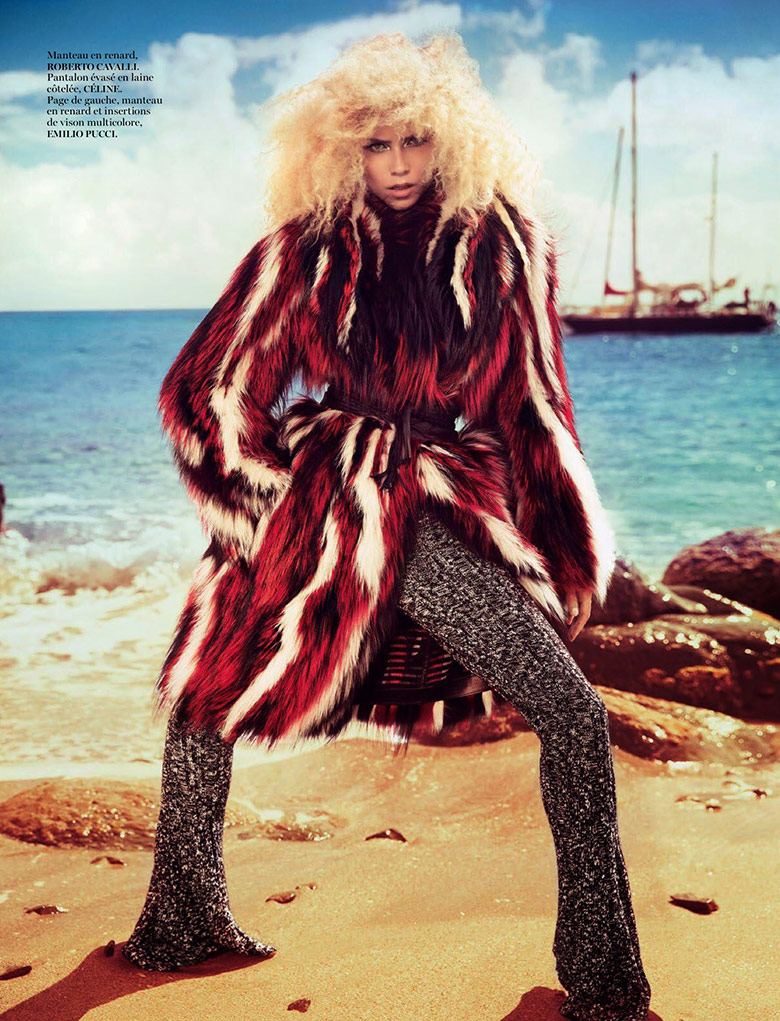 Photo Natasha Poly by Inez & Vinoodh for Vogue Paris November 2014