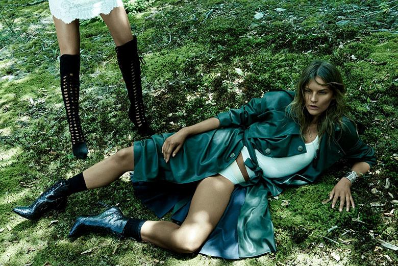 Photo Sara Blomqvist & Lena Hardt by Paola Kudacki for Vogue Spain November 2014