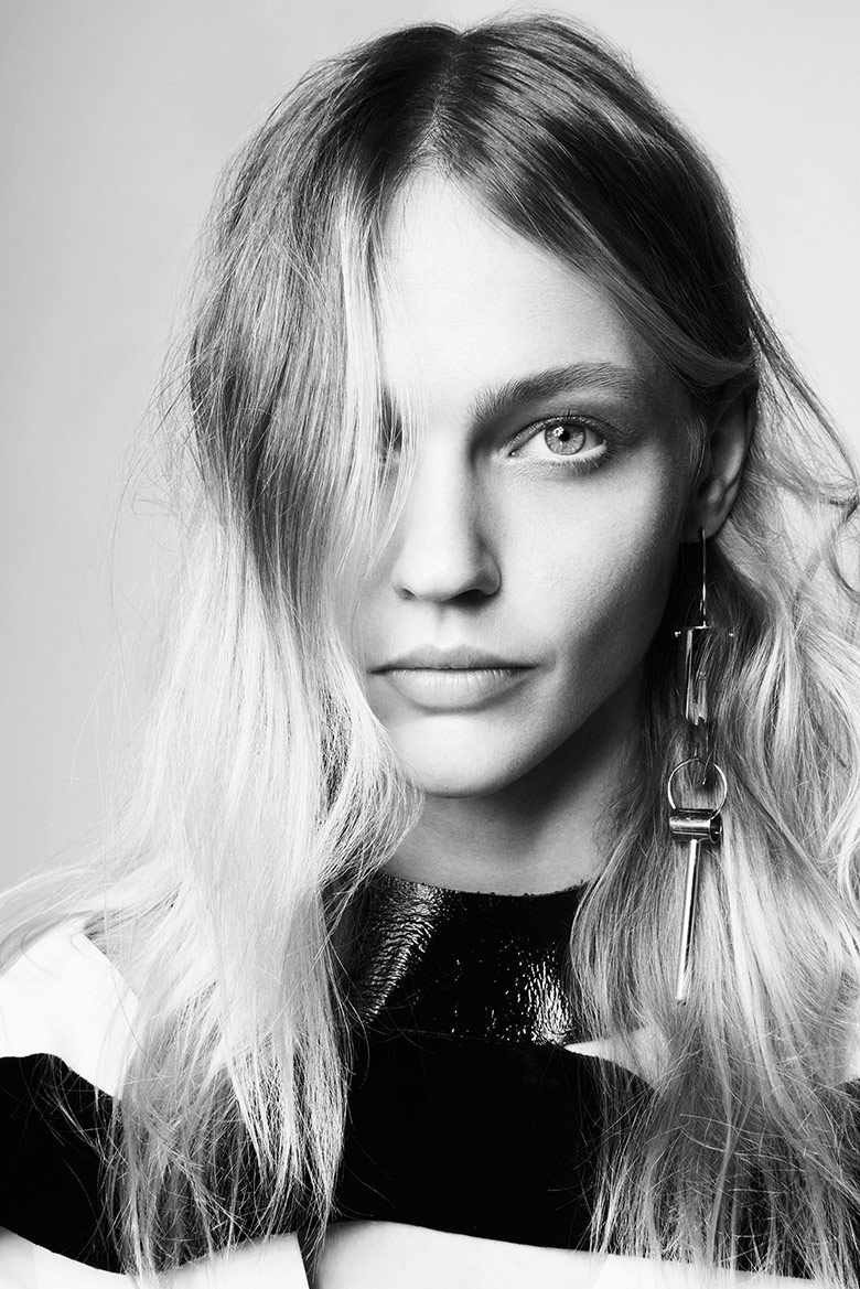 Photo Sasha Pivovarova by Glen Luchford for i D Fall 2014