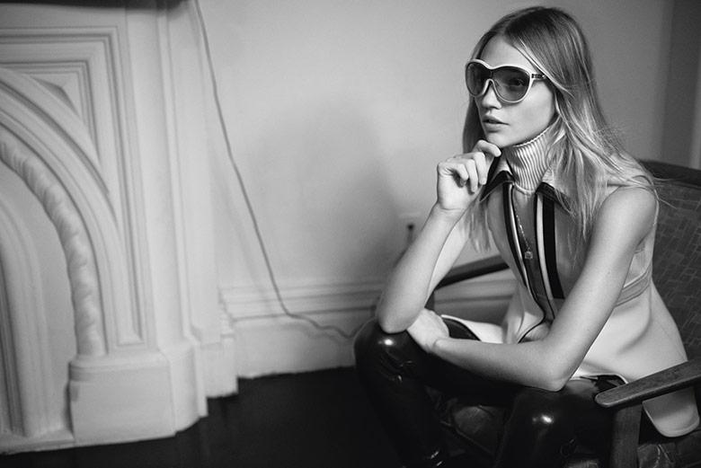 Photo Sasha Pivovarova by Glen Luchford for i D Fall 2014