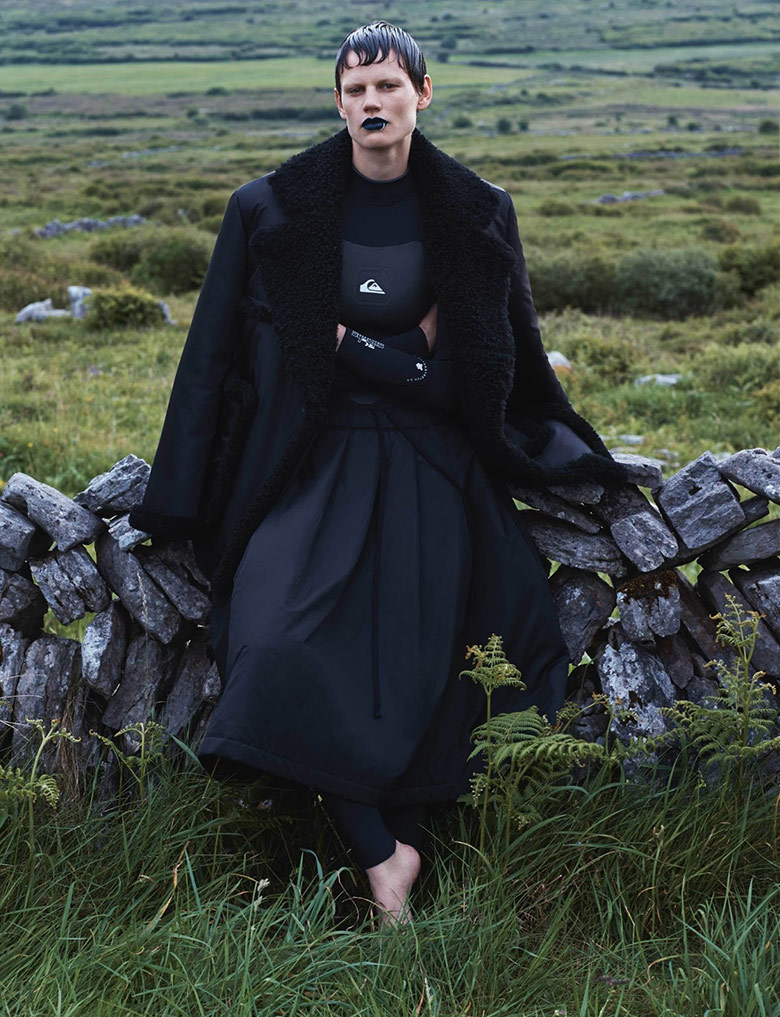 Photo Saskia De Brauw by Josh Olins for i D Fall 2014