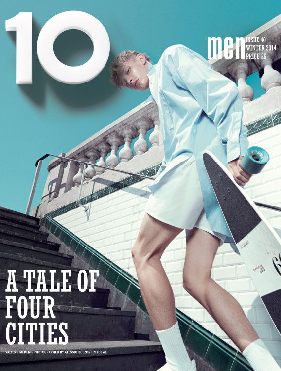 Photo Valters Medenis by Alessio Bolzoni for 10 Men Winter 2014
