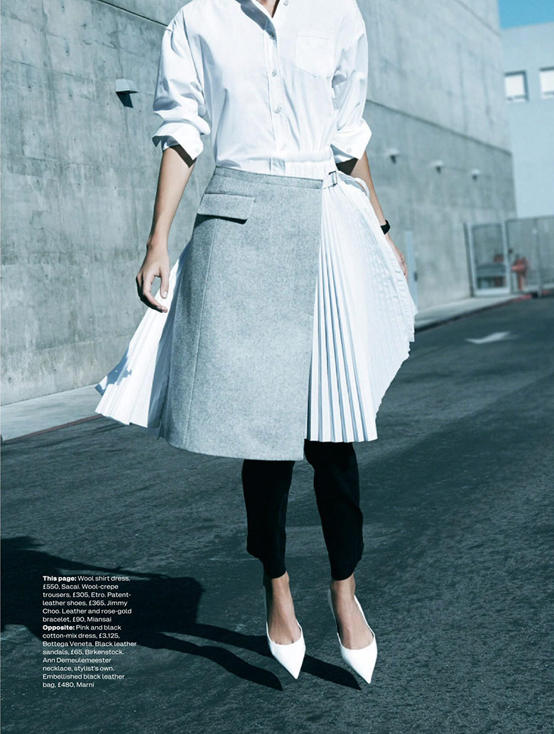 Photo Amy Hixson for Elle UK December 2014