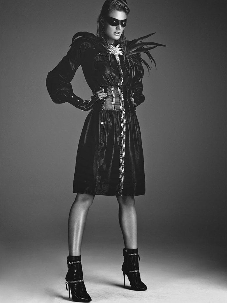 Photo Constance Jablonski by Greg Kadel for Numero November 2014