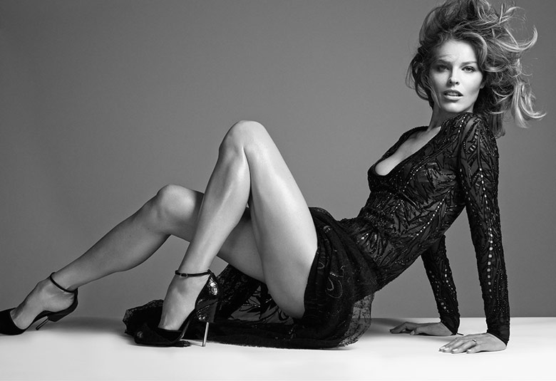Photo Eva Herzigova, Naomi Campbell & Claudia Schiffer for Vogue Turkey November 2014