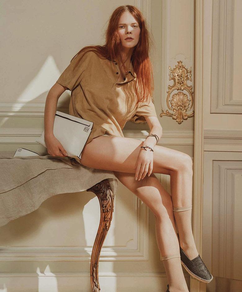 Photo Irina Kravchenko for Harper's Bazaar Spain December 2014