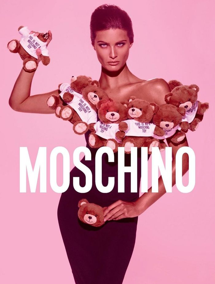 Photo Isabeli Fontana by Steven Meisel for Moschino TOY Fragrance