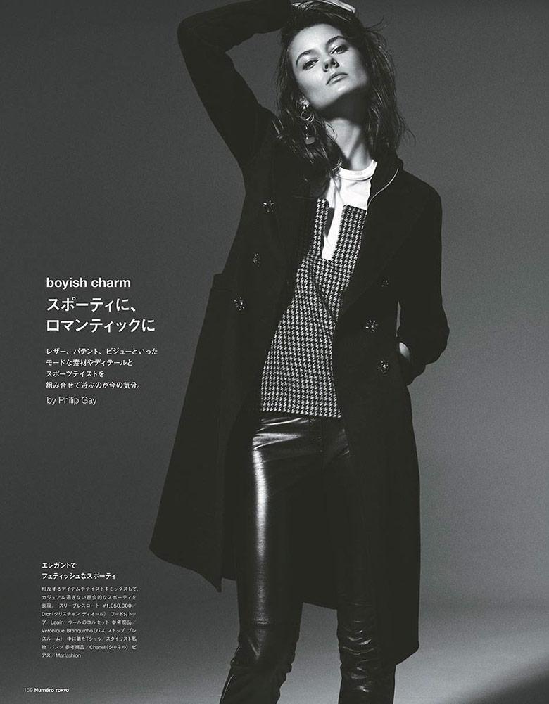 Photo Jac Jagaciak for Numero Tokyo December 2014