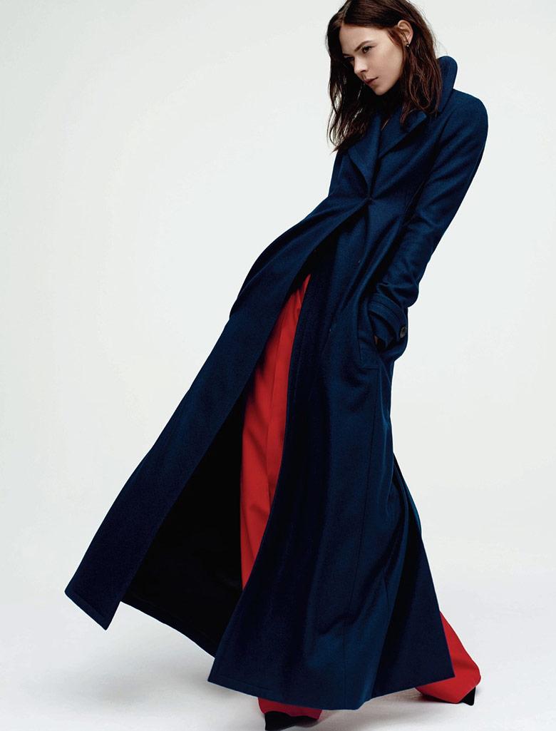 Photo Kinga Rajzak by Gregory Harris for Dior Winter 2014
