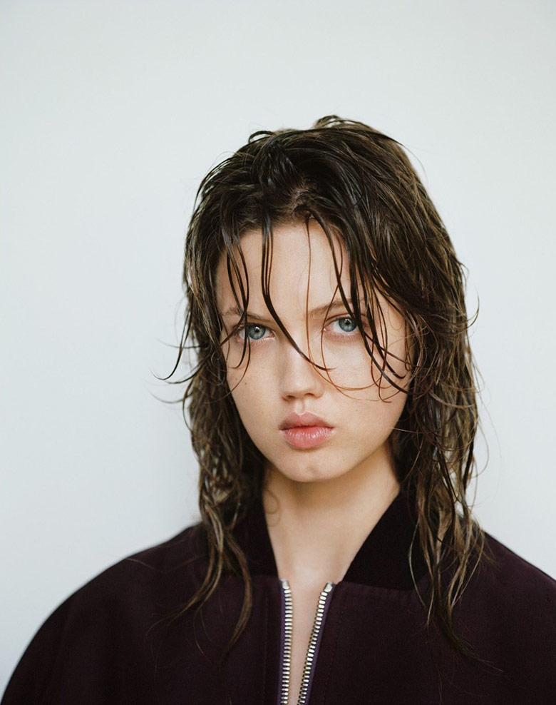 Photo Lindsey Wixson by Matteo Montanari for Twin Winter 2014