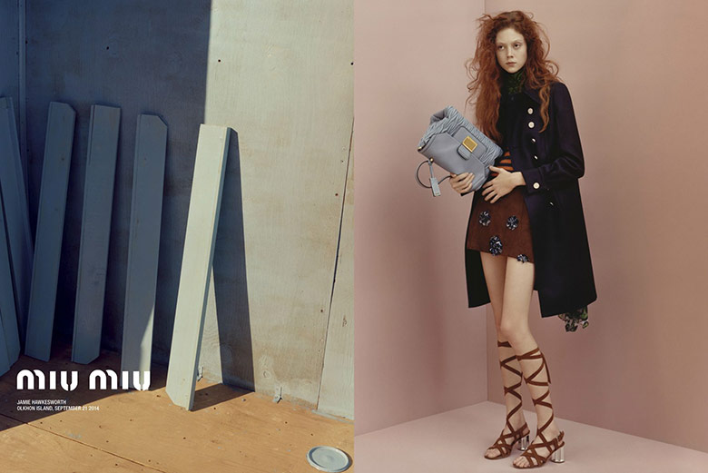 Photo Natalie Westling for Miu Miu Resort 2015