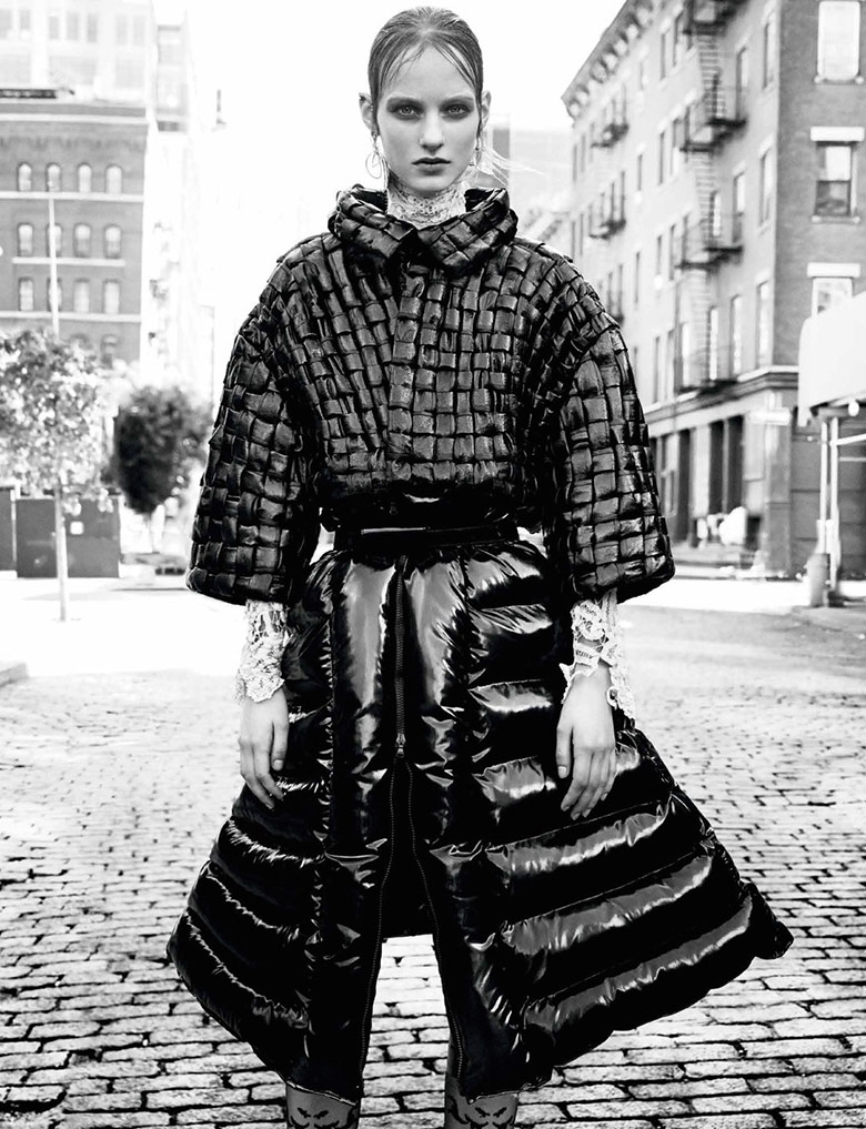 Photo 'New Down' by Patrick Demarchelier for Interview November 2014