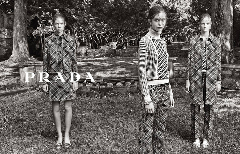 Photo Prada Resort 2015 by Steven Meisel