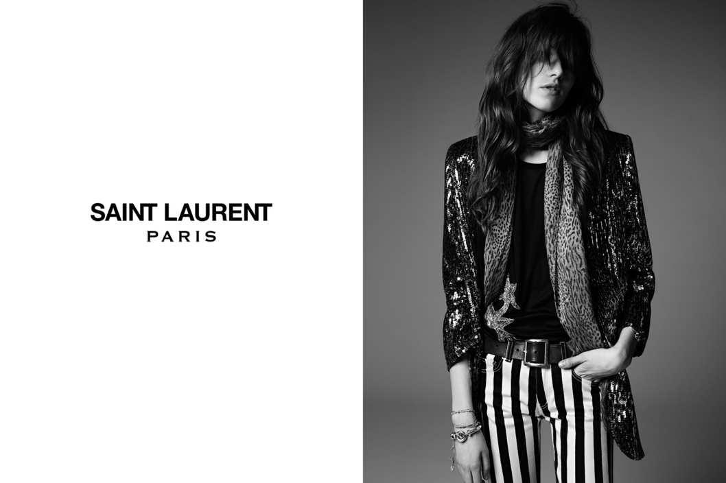 Photo Saint Laurent Paris Psych Rock Collection by Hedi Slimane