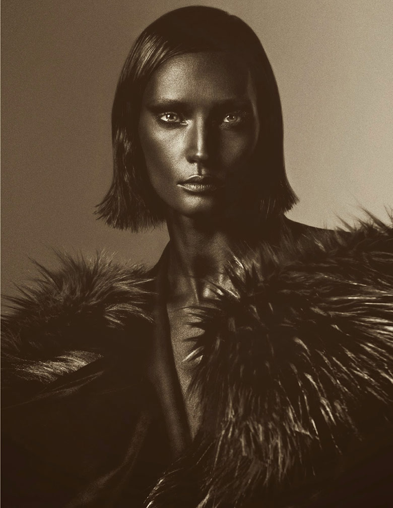 Photo Vivien Solari by Txema Yeste for Numero November 2014