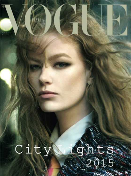 Photo Hollie May Saker by Steven Meisel for Vogue Italia January 2015