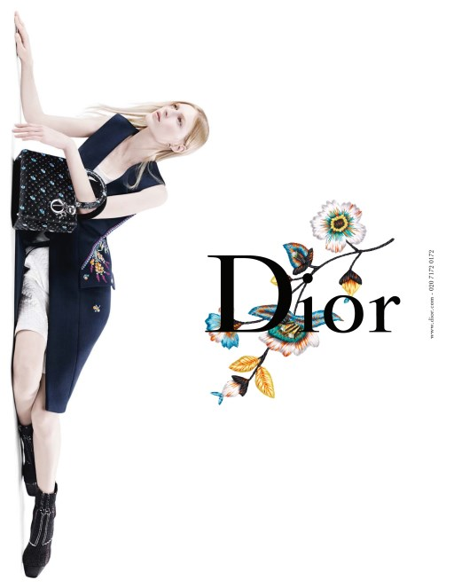 Photo Julia Nobis & Natalie Westling by Willy Vanderperre for Christian Dior S/S 2015