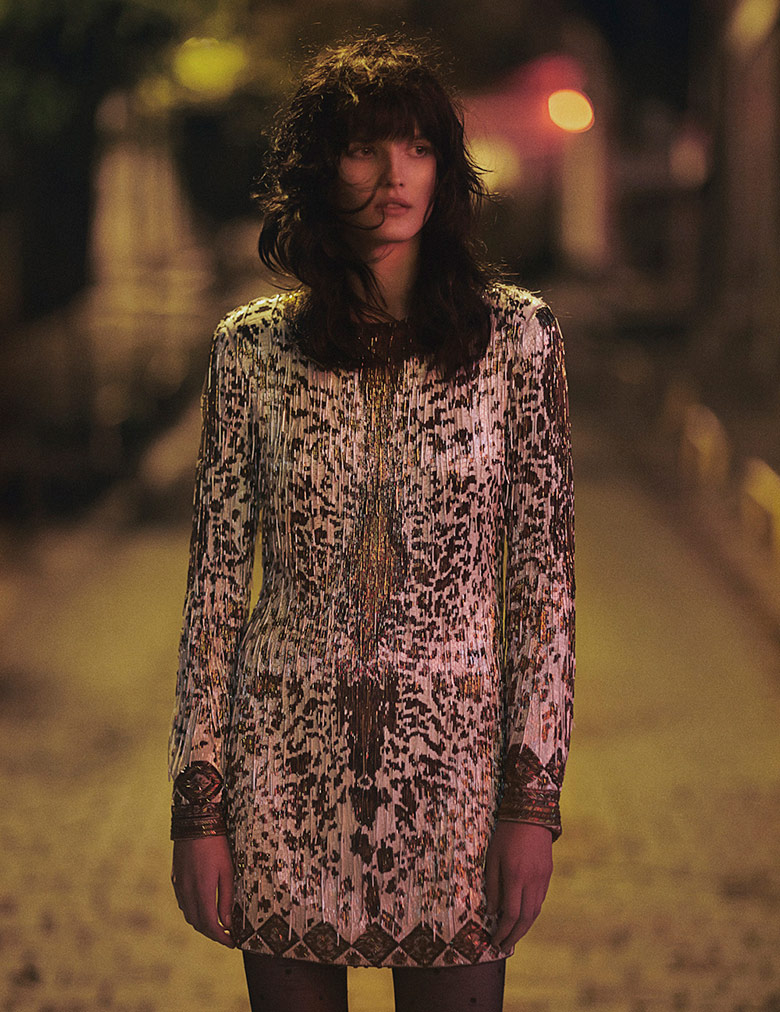 Photo Katlin Aas by Emma Tempest for Vogue Turkey December 2014