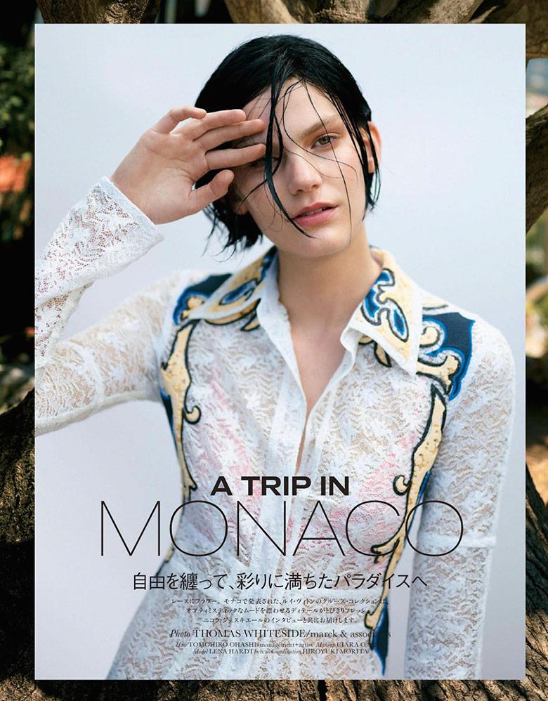 Photo Lena Hardt for Elle Japan January 2015