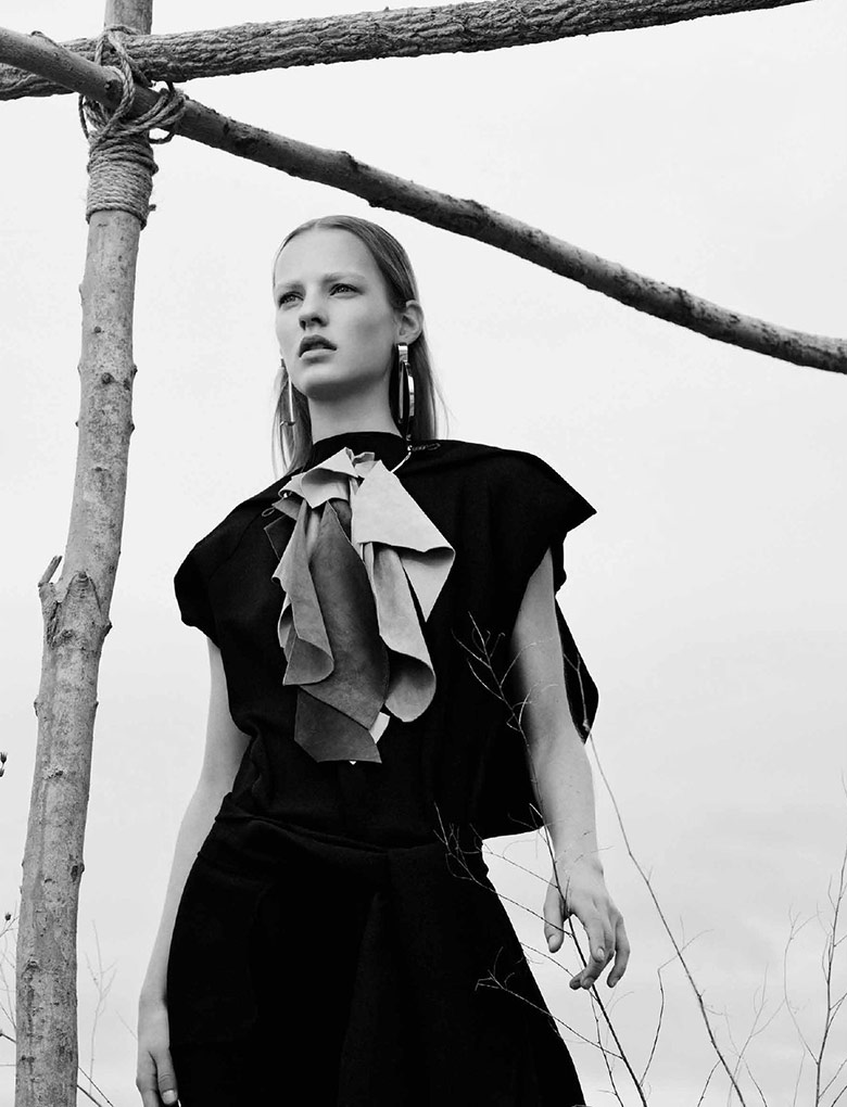 Photo Maartje Verhoef for Interview Magazine December/January 14/15