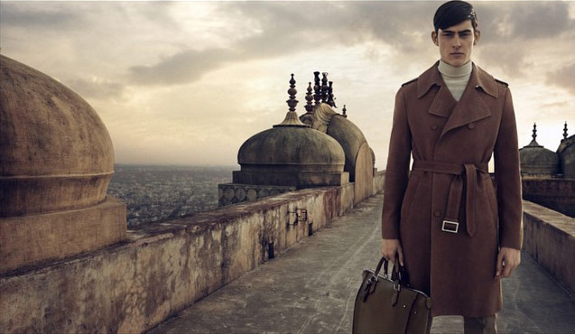 Photo Rhys Pickering  by Peter Lindbergh for Louis Vuitton S/S 2015 Mens
