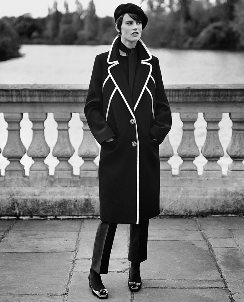 Photo Saskia de Brauw by Alasdair McLellan for Vogue Paris Dec/Jen 14/15