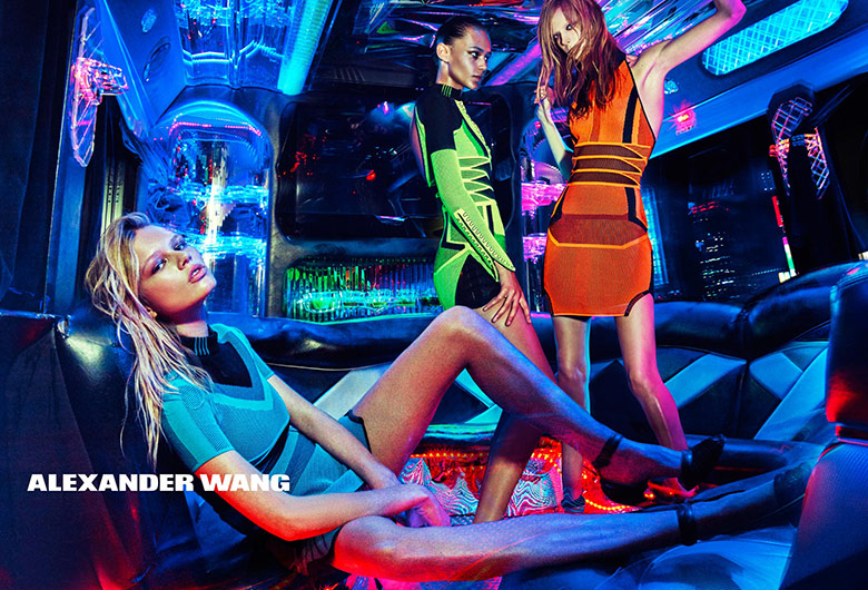 Photo ALEXANDER WANG SPRING/SUMMER 2015 Campaign