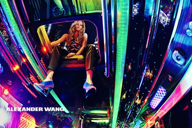 Photo Anna Ewers by Steven Klein for Alexander Wang S/S 2015