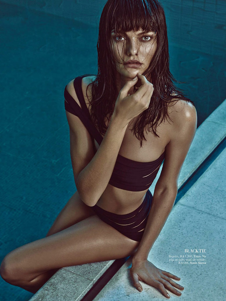 Photo Barbara Fialho for Harpers Bazaar Brasil January 2015