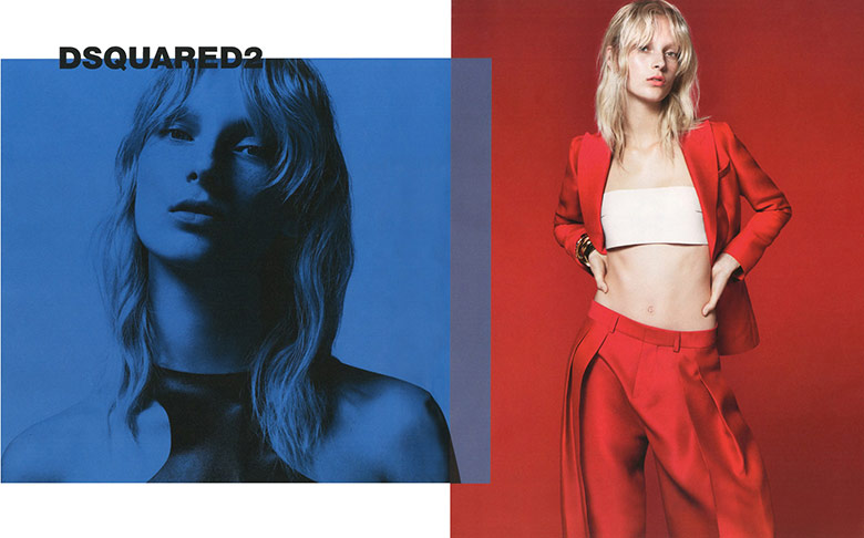 Photo Julia Bergshoeff for DSquared2 Spring/Summer 2015