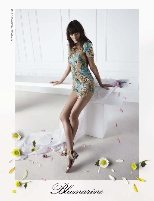 Photo Catherine McNeil for Blumarine S/S 2015