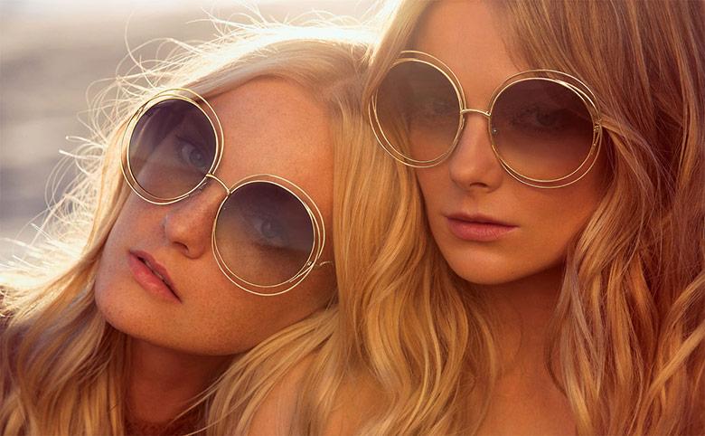 Photo Caroline Trentini & Eniko Mihalik by Inez & Vinoodh for Chloe S/S 2015