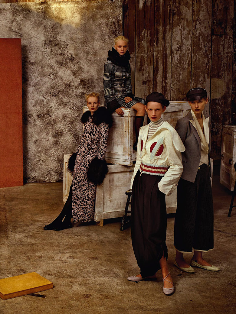 Photo In Our Time by Christian MacDonald for Vogue UK February 2015