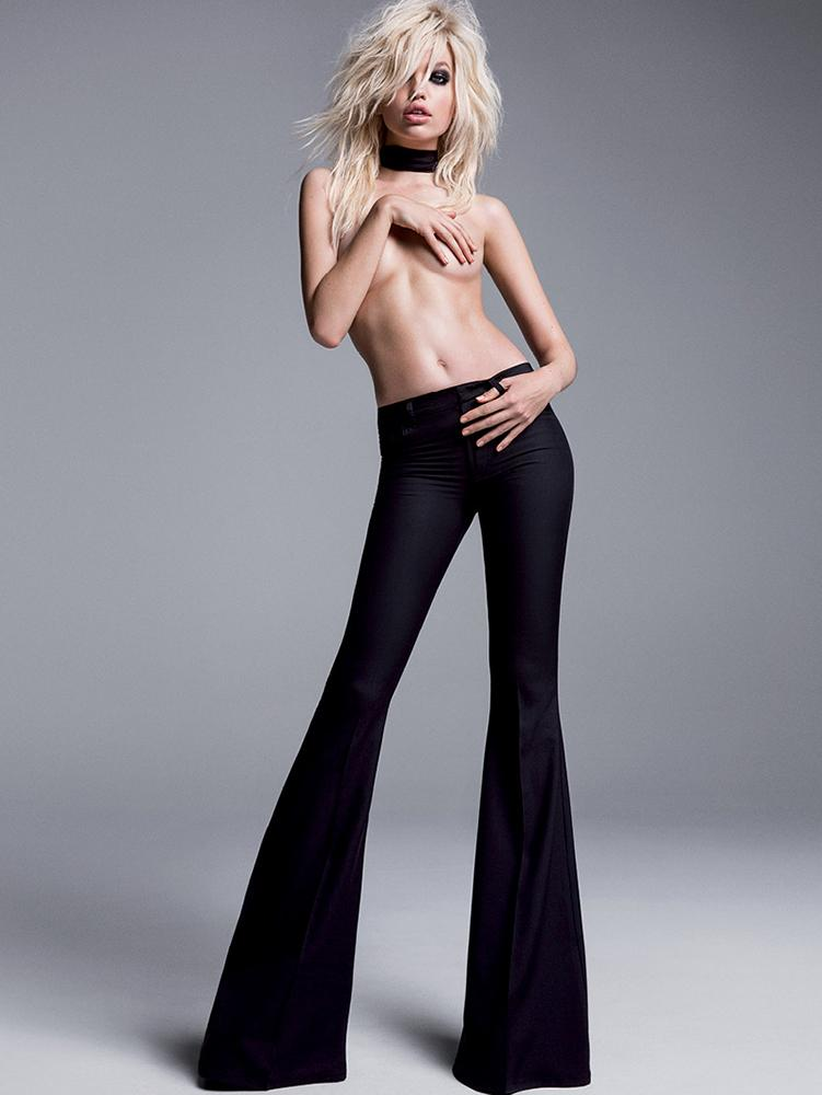 Photo Daphne Groeneveld by Inez & Vinoodh for Tom Ford S/S 2015