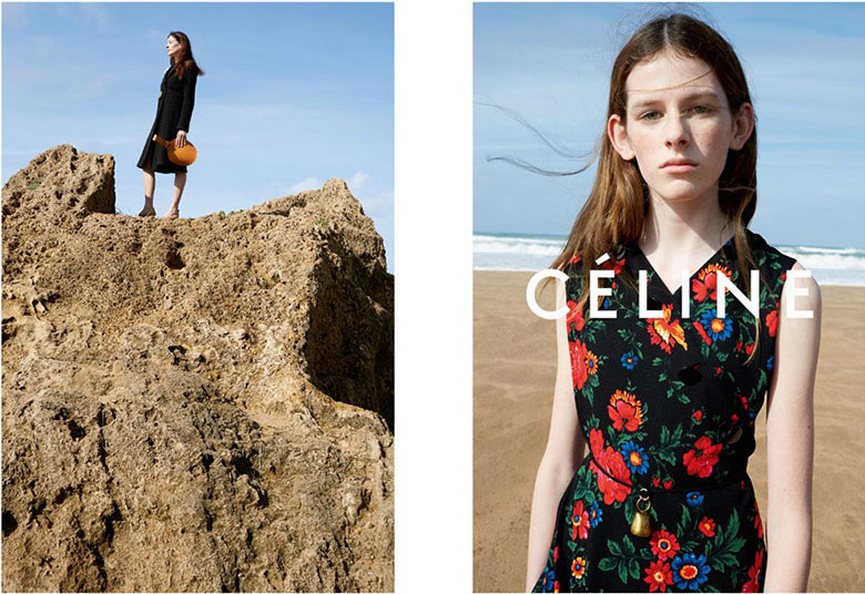 Photo Freya Lawrence & Marie Agnуs Gillot for Celine S/S 2015