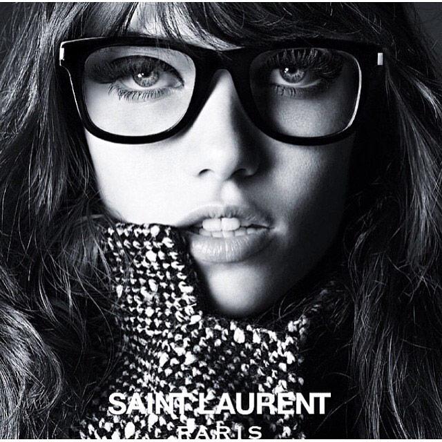 Photo Grace Hartzel for Saint Laurent Eyewear Campaign