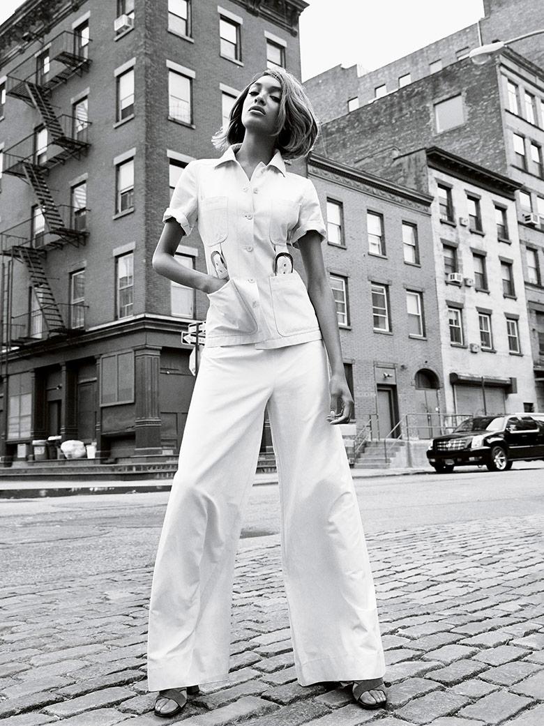 Photo Jourdan Dunn by Patrick Demarchelier for Vogue UK February 2015
