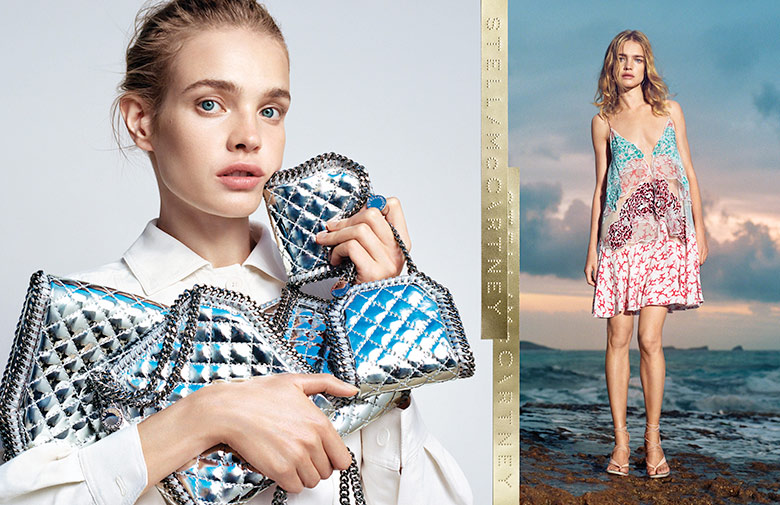 Photo Natalia Vodianova for Stella McCartney S/S 2015