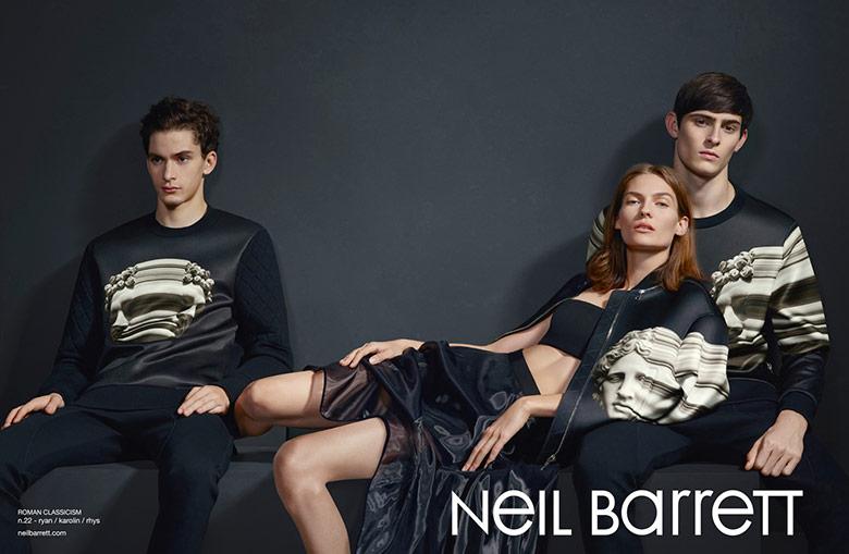 Photo Neil Barrett S/S 2015 Campaign