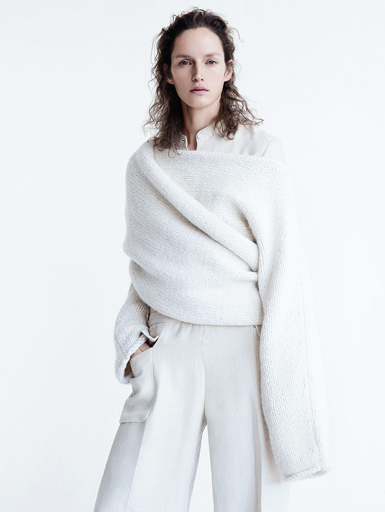 Photo Clean Slate' by Patrick Demarchelier for Vogue UK February 2015