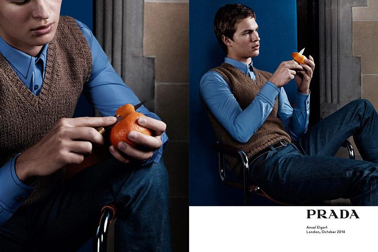 Photo Prada Menswear Spring/Summer 2015 Campaign