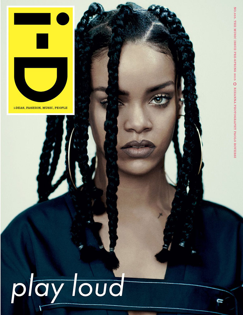 Photo Rihanna for i D Magazine Pre Spring 2015
