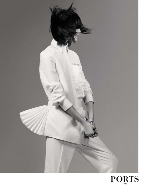 Photo Sam Rollinson by Craig McDean for Ports 1961 S/S 2015