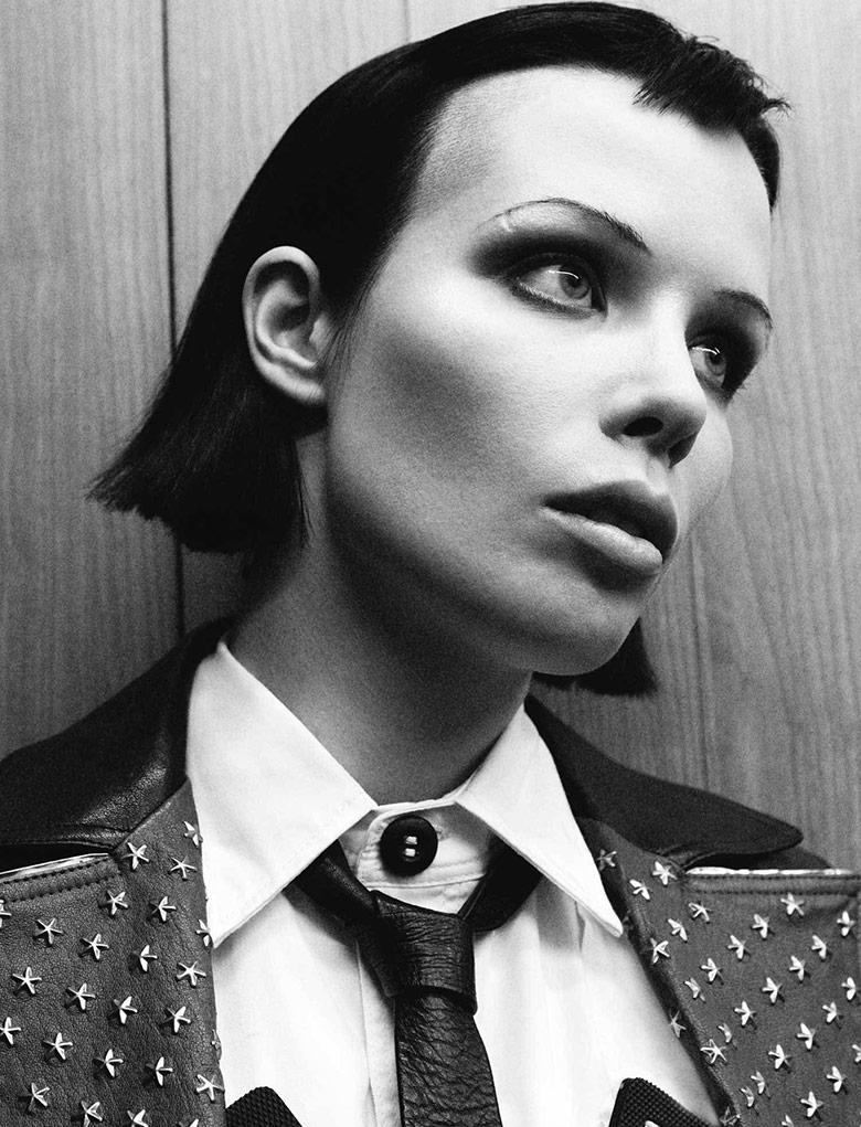 Photo Alice Glass for i D Magazine Pre Spring 2015