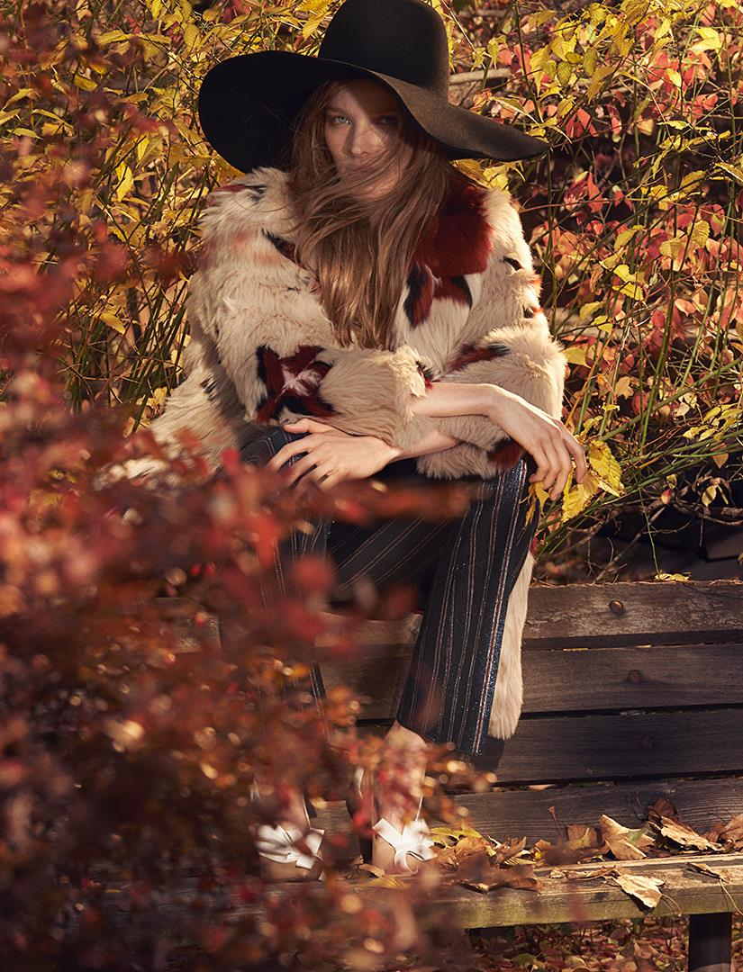 Photo Alisa Ahmann by Zee Nunes for Vogue Brazil February 2015