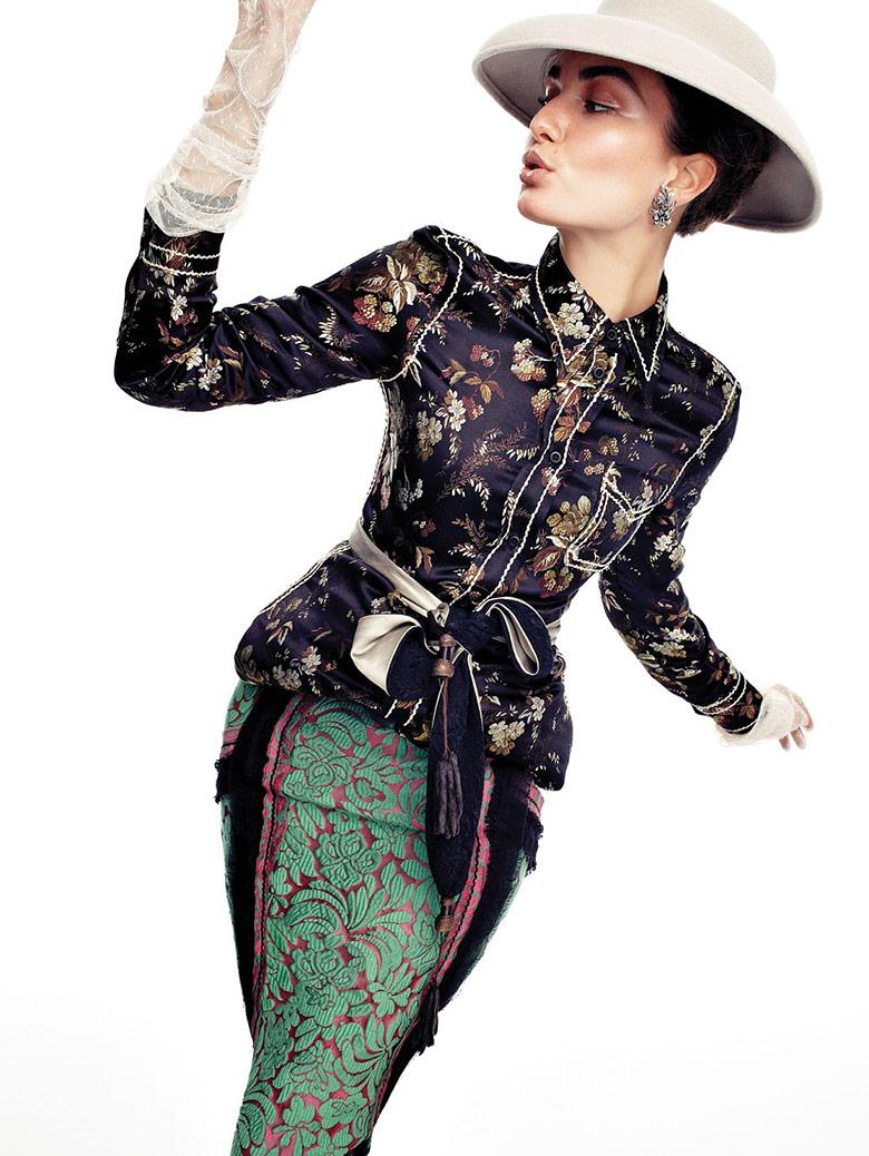 Photo Andreea Diaconu for Vogue Korea February 2015