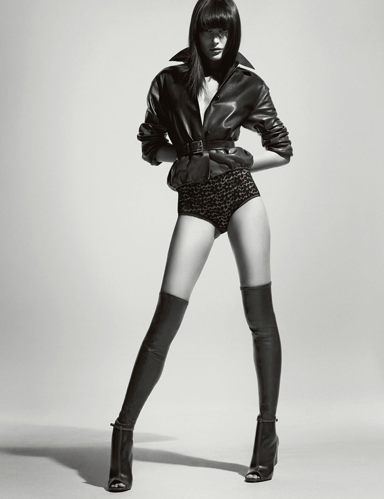 Photo Catherine McNeil by Tom Munro for Numero March 2015