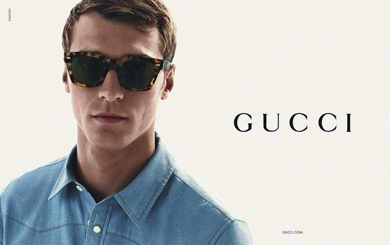 Photo Clement Chabernaud for Gucci Eyewear Spring/Summer 2015