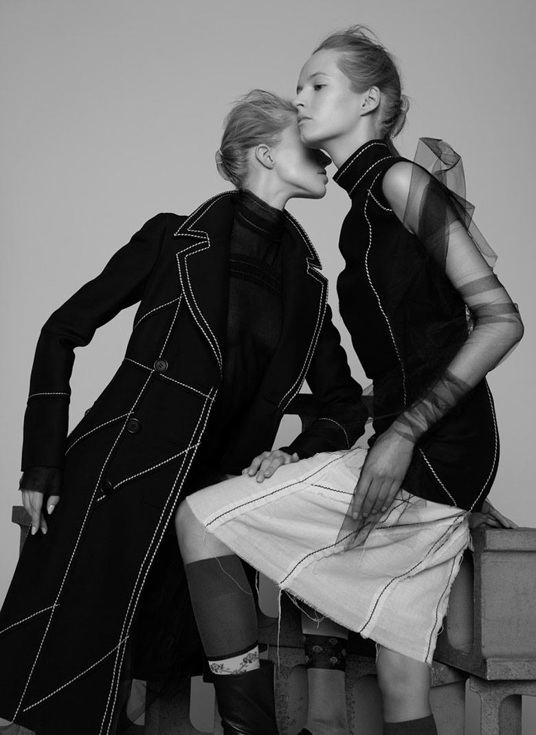 Photo Daria Strokous & Sasha Luss for V Spring 2015